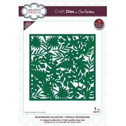 Craft Dies by Sue Wilson - Tropical Background Craft Die