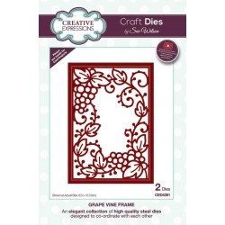 Craft Dies by Sue Wilson - Frames & Tags Collection Grape Vine Frame