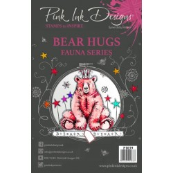 Pink Ink Designs Clear Stamp Bear Hugs A5