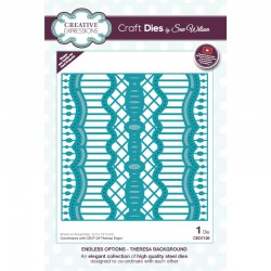 Creative Expressions Sue Wilson Endless Options Theresa Background Craft Die