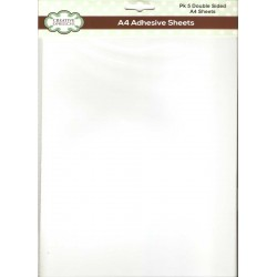 Creative Expressions A4 Double Sided Adhesive Sheets - Pack of 5