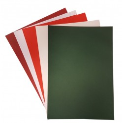 Foundations A4 Card Pack Christmas Colours - As Used By Sue Wilson - 220gsm