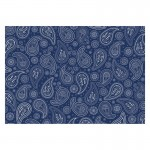 Papier Patch Deco Sheets - Blue Paisley