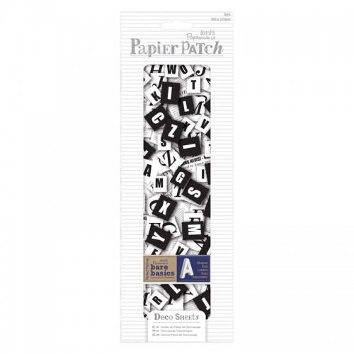Papier Patch Deco Sheets - Newspaper