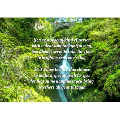 Happy Birthday Waterfall Download