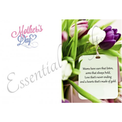 Mothers Day For MUM - FREE Card Insert Download