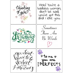 Easy Peel Self Adhesive Amazing Quotes by Essential Crafts