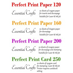 Perfect Print Full Pack (80 sheets) - by Essential Crafts