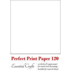 Perfect Print Paper 120gsm (20 sheets) - by Essential Crafts