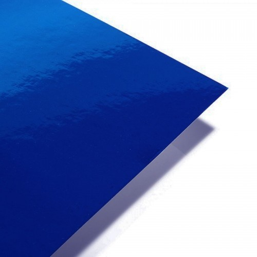 A4 Royal Blue Mirror Card 250gsm Single Sheet