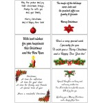 Easy Peel Self Adhesive Christmas Verses 2 by Essential Crafts