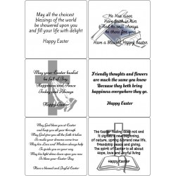 Easy Peel Self Adhesive Easter Verses 1 by Essential Crafts