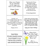 Easy Peel Self Adhesive Easter Verses 2 by Essential Crafts