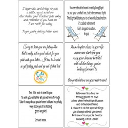 Easy Peel Self Adhesive Get Well & Retirement Verses by Essential Crafts