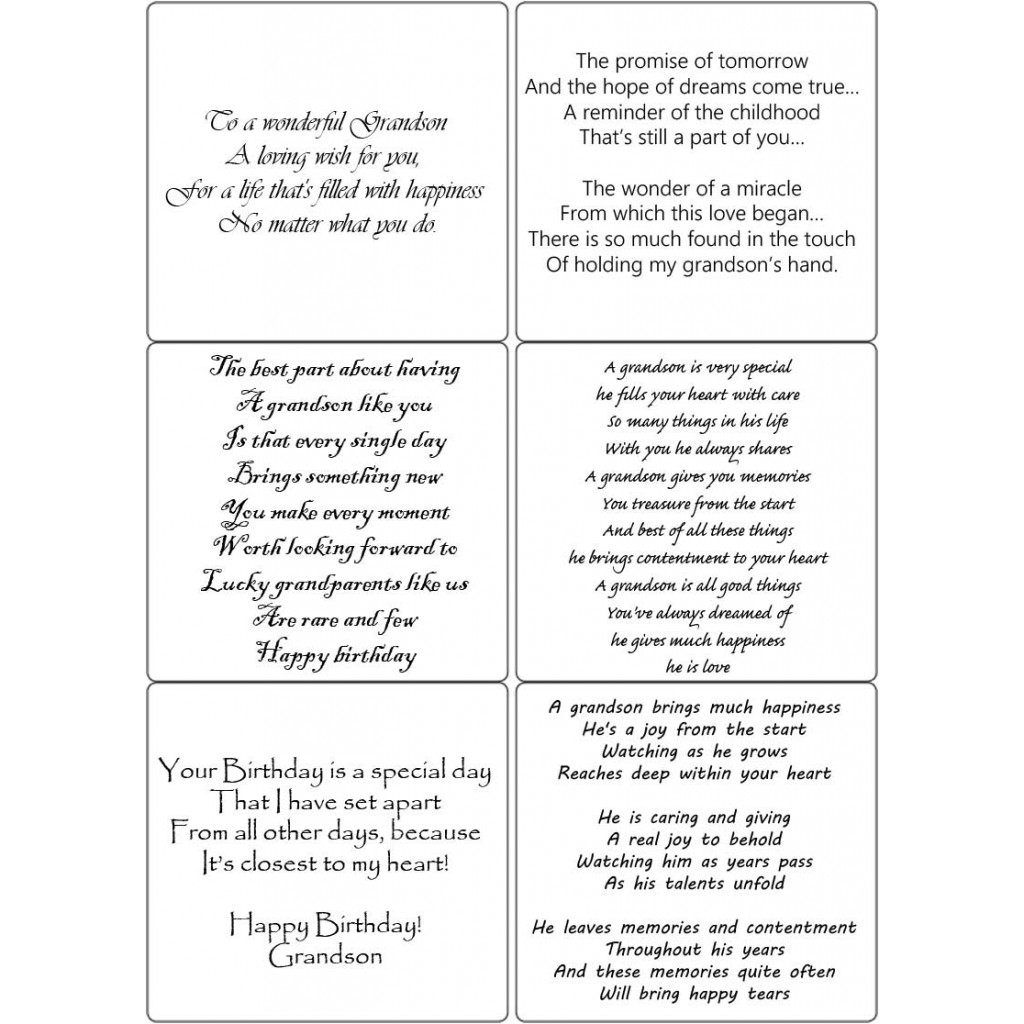 Grandson birthday verses for cards image collections birthday cake grandson birthday verses for cards gallery birthday cake peel off grandson verses sticky verses for handmade bookmarktalkfo Choice Image