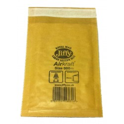 Padded Jiffy Envelopes Size 000(G) - Pack of 10