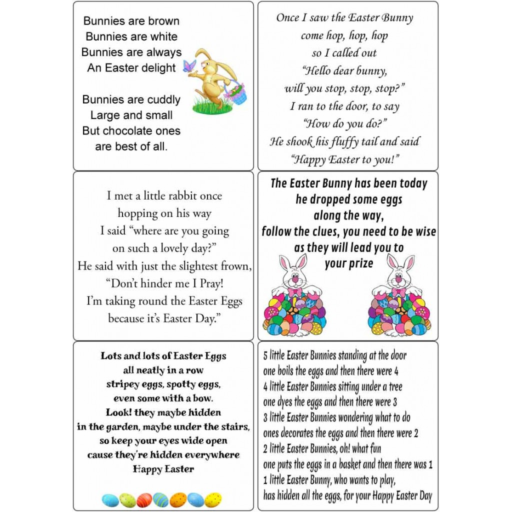 Occasions Peel Offs – Easter Verses for Cards