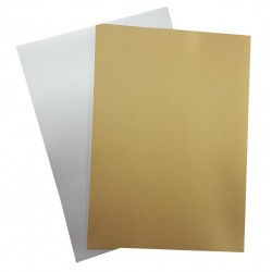 A4 Matt Silver or Matt Gold Card (Choose Colour)