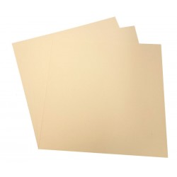 12 x 12 Pearlised Ivory Card - Pack of 10