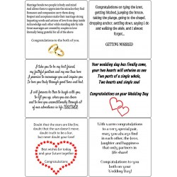 Easy Peel Self Adhesive Same Gender Marriage Verses by Essential Crafts