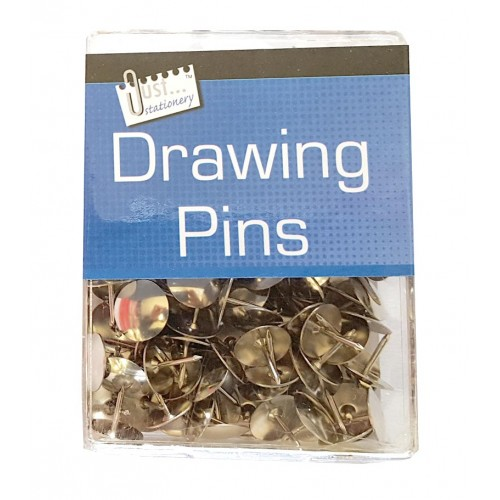 Silver Drawing Pins (approx 100)