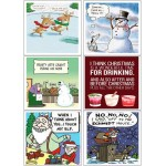 Easy Peel Self Adhesive Too Cheeky Christmas Quotes by Essential Crafts