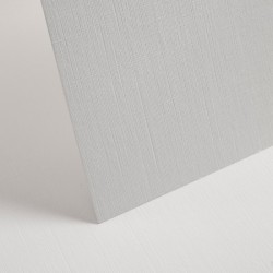 A4 White Linen Card - Pack of 20 - 250gsm
