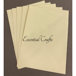 C5 Eider Vellum Envelopes Pack of 25 - 100gsm