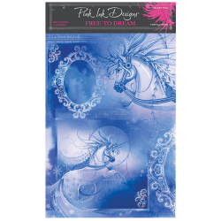 Pink Ink Designs Free To Dream A4 Rice Paper