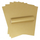 A4 Harvest Gold Sparkle Paper - 120gsm - Single Sheet