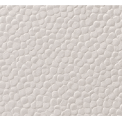 Pebble Effect Embossed Luxury Paper - Pearlised White