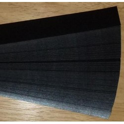 Iris Folding Papers - Pearlescent Black