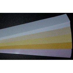 Iris Folding Papers - Pearlescent Cream