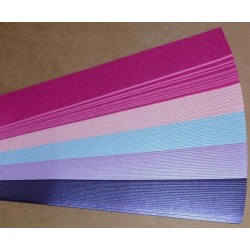 Iris Folding Papers - Pearlescent Pink