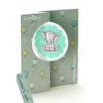 Die Cut Toppers Mini Kit - Baby Elephant by Katy Sue Designs