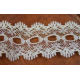 Knitting In Lace White 33mm wide 1 metre length