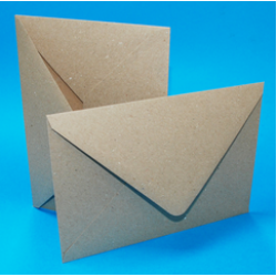 C5 Recycled Kraft Envelopes Pack of 10