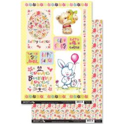 Memories and Milestones Easter Topper With Backing sheet
