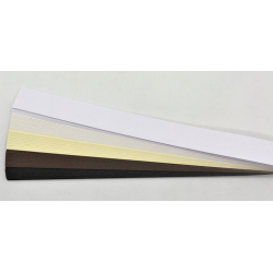 Iris Folding Papers - Matt Velvet Cream