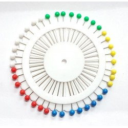 Pin Wheel - Plastic Head Pins 40pcs