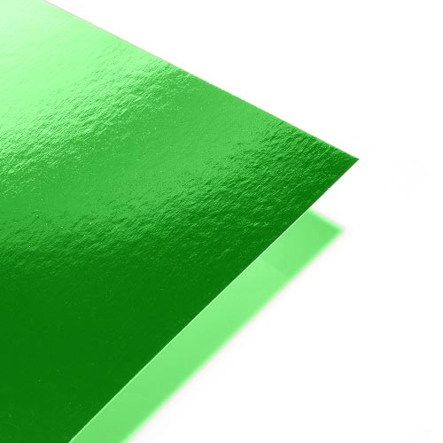 A4 Green Mirror Paper Single Sheet