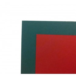 A4 Christmas Green Card & Red Paper Pack  x 15 Sheets