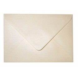 C6 Cream Shimmer Envelopes Pack of 10