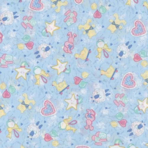 Baby Boy 100% Cotton Fabric