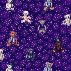 Teddies 100% Cotton Fabric