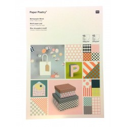 Paper Poetry Graphics Motif Paper & Card Pad - Rico Designs