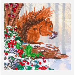 Crystal Card Kit - Squirrel