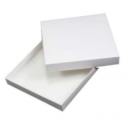 5 x 5 White Card Box