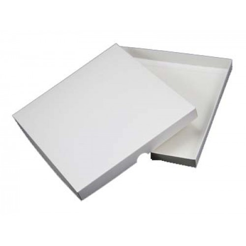 7 x 7 White Card Box