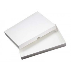 7 x 10 White Greeting Card Box & Card Blank